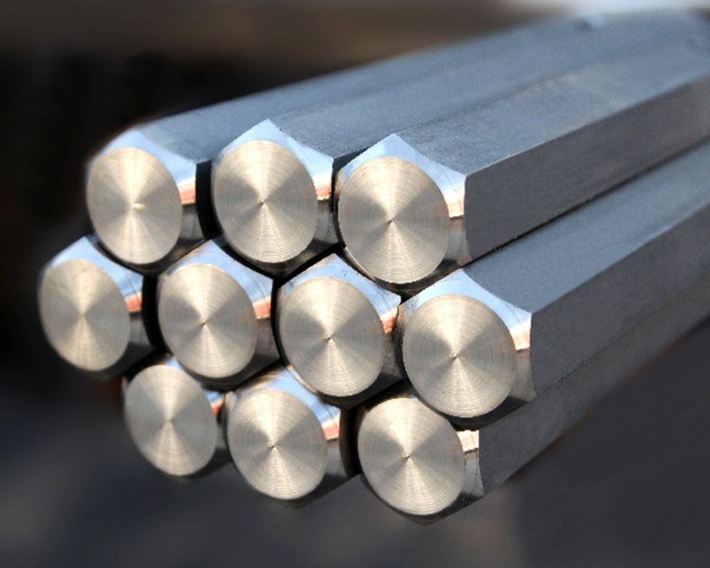Stainless Steel 410 Hexagonal Bars & Rods Manufacturer & Exporter